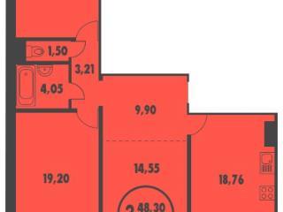 Продажа квартир: 3-комнатная квартира, Тюменская область, Тюмень, ул. Монтажников, 41, фото 1