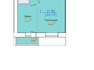 Продажа квартир: 1-комнатная квартира, Ивановская область, Кохма, Кочетовой ул., 28/4, фото 1