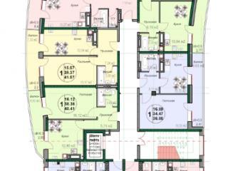 Продажа квартир: 2-комнатная квартира, Краснодарский край, Горячий Ключ, ул. Ленина, 190, фото 1