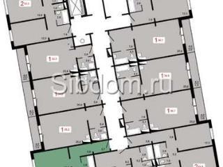 Продажа квартир: 2-комнатная квартира в новостройке, Красноярск, Свердловская ул., 1, фото 1