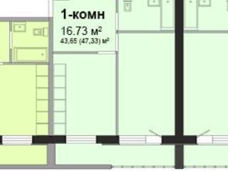 Продажа квартир: 1-комнатная квартира, Иркутская область, Иркутск, Березовый мкр., 78, фото 1