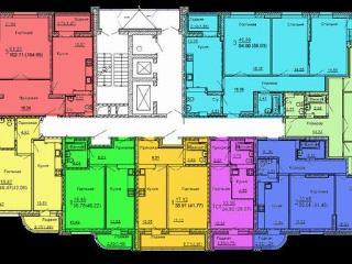 Продажа квартир: 2-комнатная квартира в новостройке, Новосибирск, Сухарная ул., 96к2, фото 1