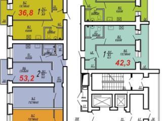 Продажа квартир: 2-комнатная квартира, Саратов, ул. им Чернышевского Н.Г., 1, фото 1