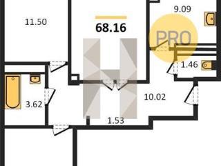 Продажа квартир: 3-комнатная квартира, Ростов-на-Дону, Вятская ул., 49, фото 1