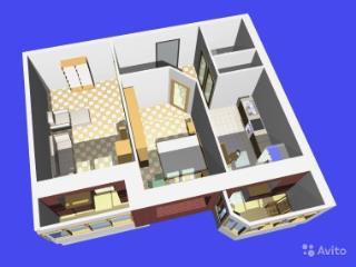 Продажа квартир: 2-комнатная квартира в новостройке, Курск, проезд Весенний 2-й, фото 1