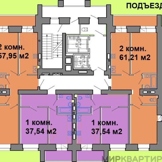 Продам квартиру в новостройке Омск, ул. Красный Путь, 9