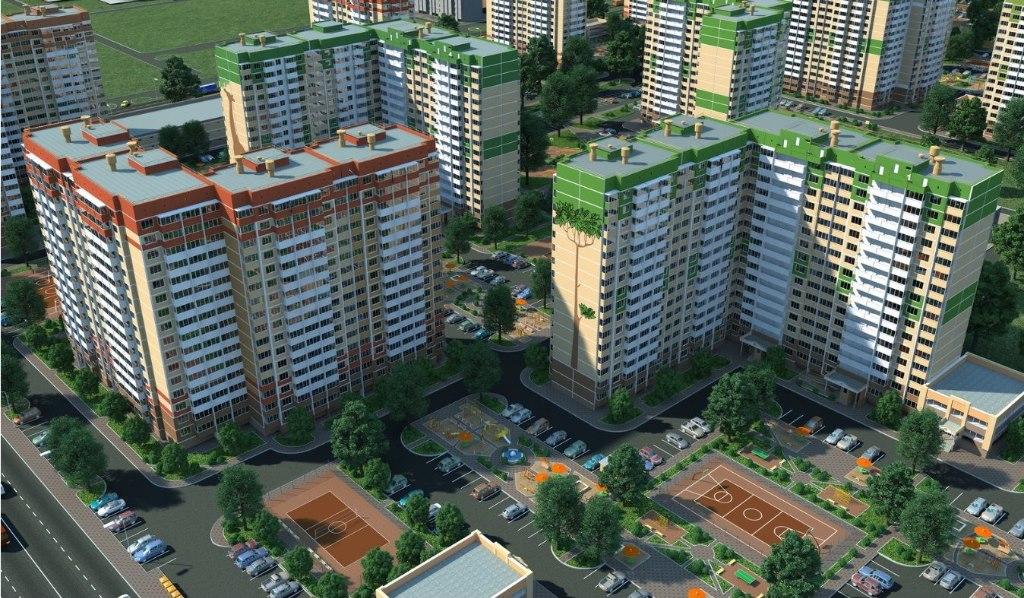 Продажа квартир: 2-комнатная квартира в новостройке, Краснодар, Черкасская ул., 62/1, фото 1