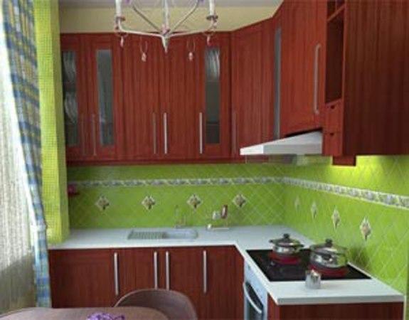 Ремонт кухни в хрущевке 7 квм