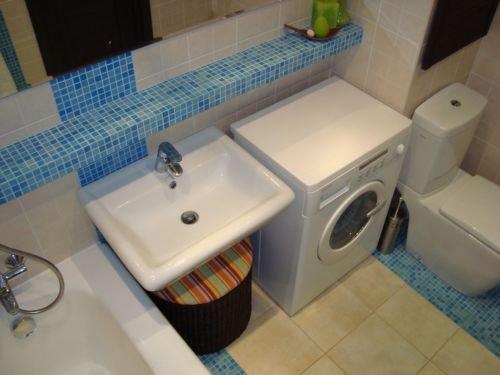 Недорогой дизайн ванной комнаты фото