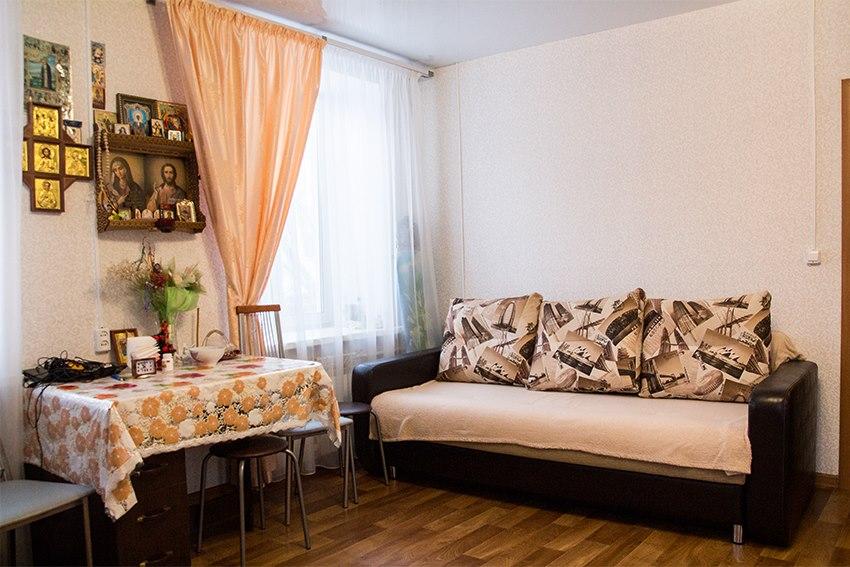 Продается однокомнатная квартира за 1 600 000 рублей. г Томск, ул Олега Кошевого, д 44Б.