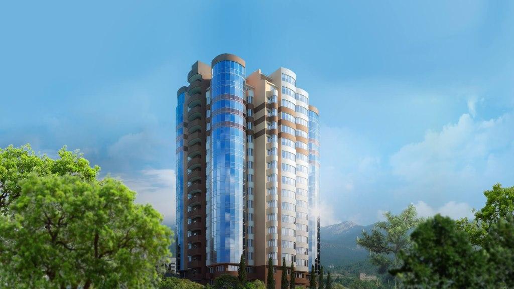 Продается трехкомнатная квартира за 8 450 000 рублей. респ Крым, г Ялта, ул Кривошты.